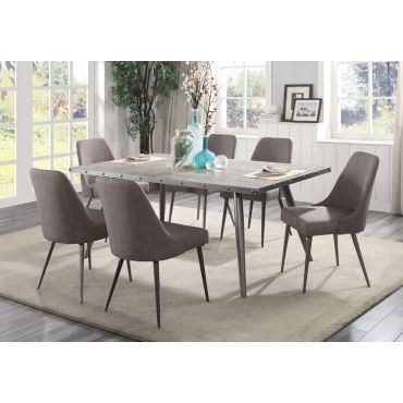 Erica Mid-Century Modern Dining Table Set