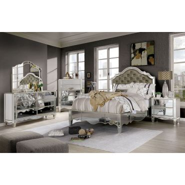Euston Transitional Mirrored Bedroom