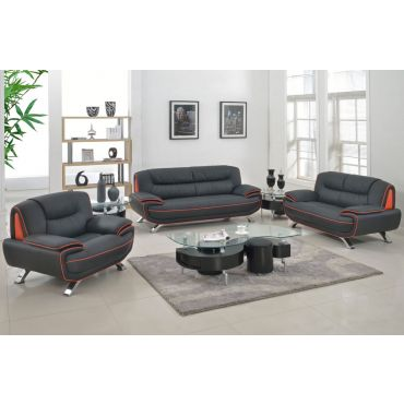 Eva Modern Genuine Leather Living Room Furniture