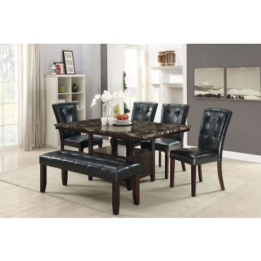 Elivia Dining Table With Chair Set