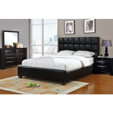 William Black Leather Bed
