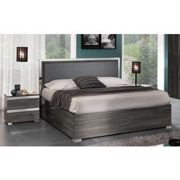 Fabio Platform Bed With Light
