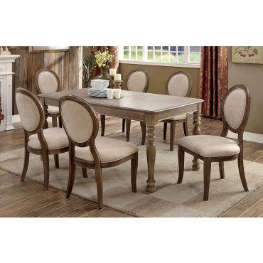 Faelynn Transitional Dining Table Set