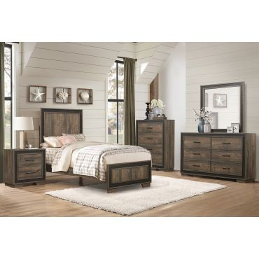 Farber Rustic Youth Bedroom Furniture
