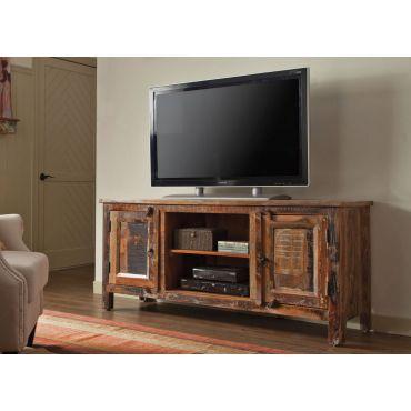 Faron Reclaimed Wood TV Console