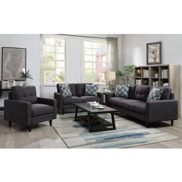 Fayne Gray Living Room Sofa