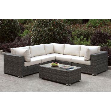 Feder Outdoor Sectional Sofa Set