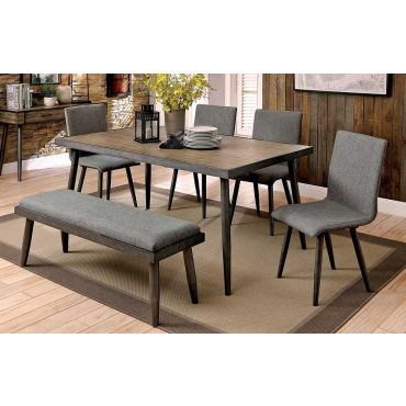 Fernald Mid-Century Modern Dining Table Set