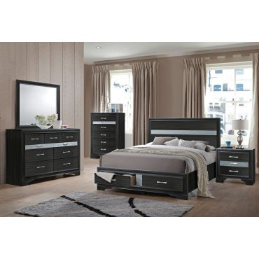Filipo Modern Style Storage Bed