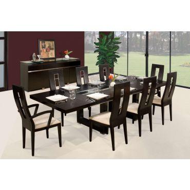 Fillmore Espresso Formal Dining Table Set