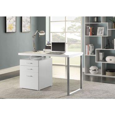 Finley Office Desk White Finish