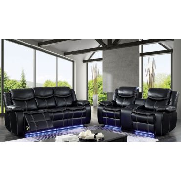 Fulton Power Recliner Sofa With LED Lights