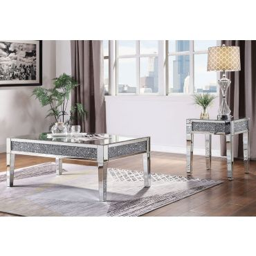 Galli Modern Mirrored Coffee Table