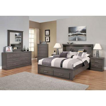 Gamma Modern Platform Bedroom