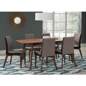 Garcet Mid-Century Modern Dining Table Set