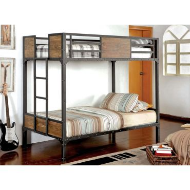 Gareth Industrial Style Bunk Bed