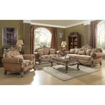 Gastone Traditional Fabric Sofa Collection