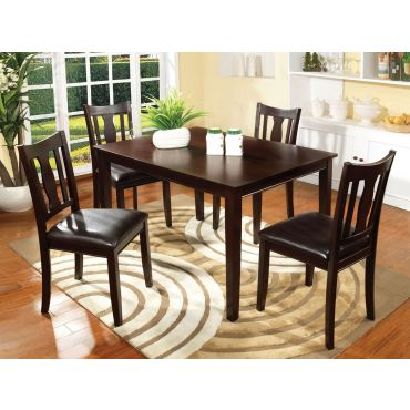 Geary Dining Table With Four Chairs
