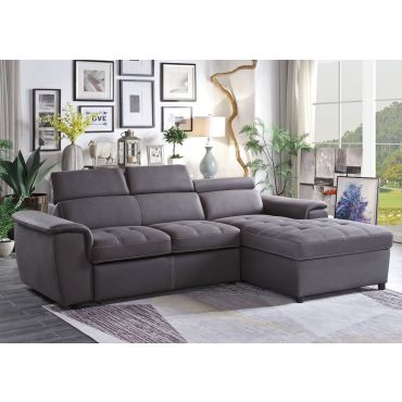 Gemma Gray Sectional Sleeper