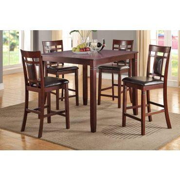Gerica Contemporary Pub Table Set