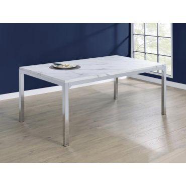 Girardi Marble Top Modern Dining Table