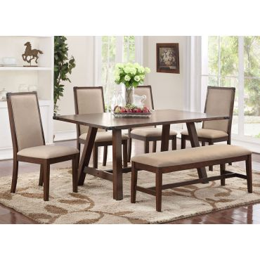 Godenza Industrial Style Dining Table Set