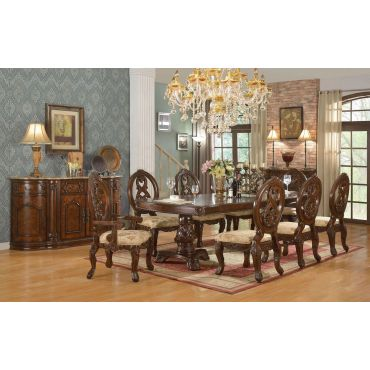 Gordon Traditional Style Dining Table