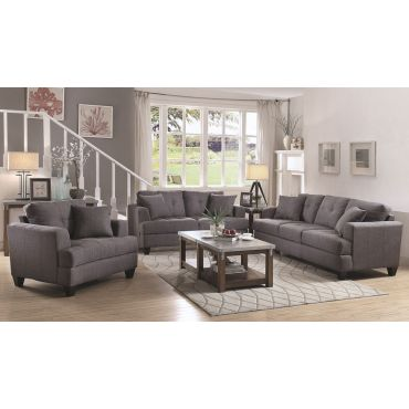 Govana Casual Grey Fabric Sofa