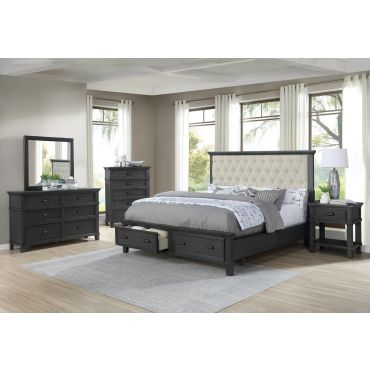 Grandeur Bed With Storage Drawers