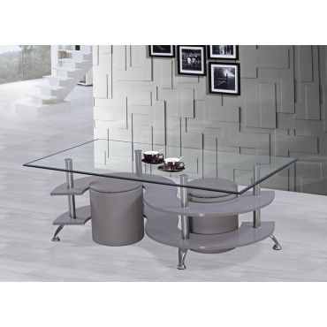 Nest Modern Grey Coffee Table