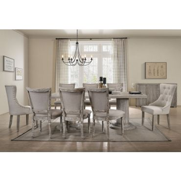 Greywood Dining Table Reclaimed Finish