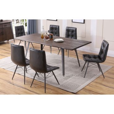 Grover Industrial Style Dining Room Furniture