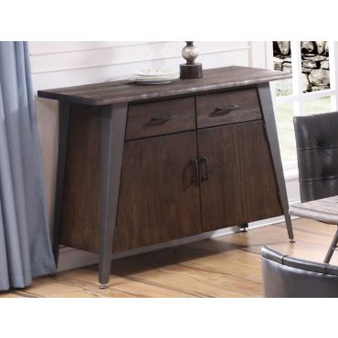 Grover Rustic Finish Server
