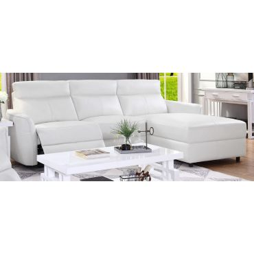Gualtier Modern Sectional With Recliner