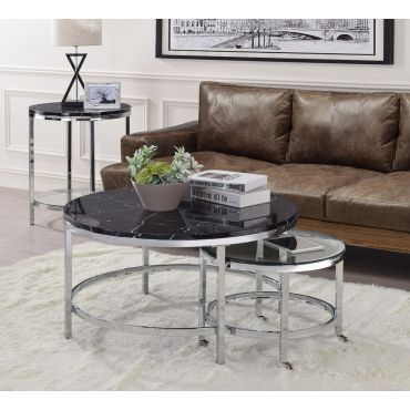 Guerrero Coffee Table With Nesting Table