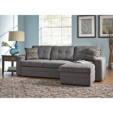 Gus Sectional With Pull Out Bed and Storage