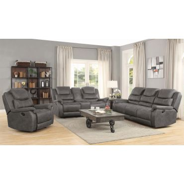 Halmin Recliner Sofa With Drop Down Table