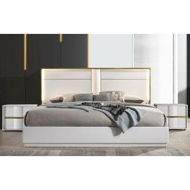 Hana Modern Bed With Light