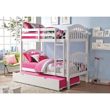 Harriet White Finish Bunk Bed