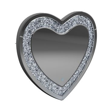 Heart Shape LED Light Accent Mirror