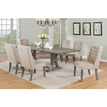 Hawn Mid-Century Modern Dining Table Set