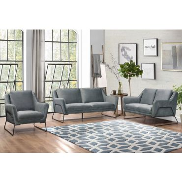 Hayden Modern Sofa Gray Fabric