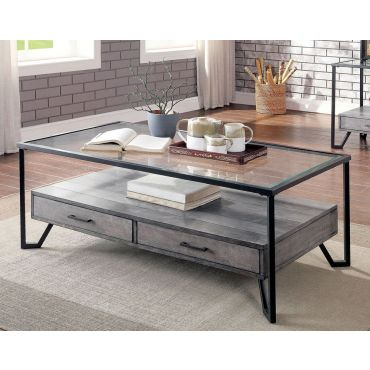 Homare Coffee Table With Drawers