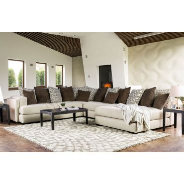 Honesdale Extra Large U Shape Sectional