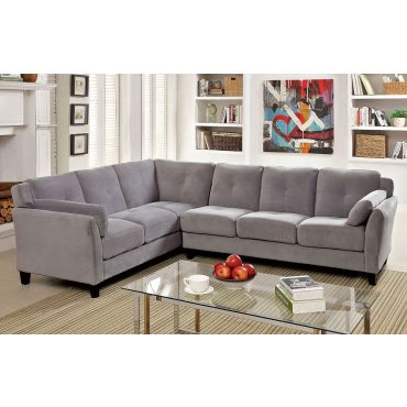 Howard Grey Contemporary Sectional