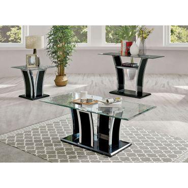 Hulo Black Modern Coffee Table