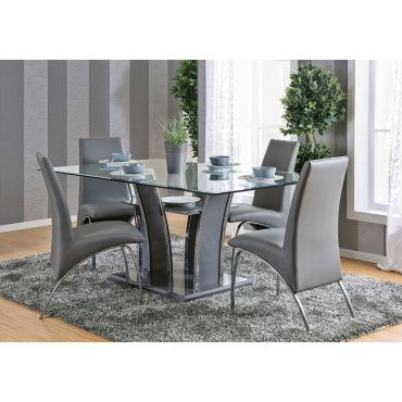 Hulo Grey Dining Table Set