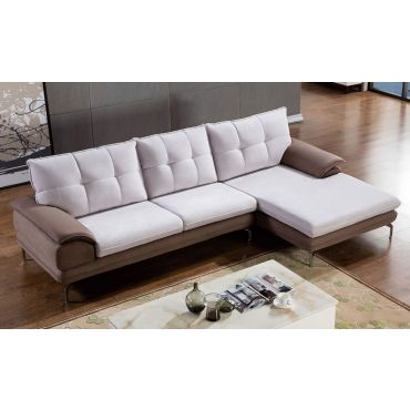 Impulse Modern Microfiber Sectional,Impulse Sectional Facing Left Side