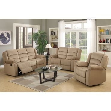 Jagger Beige Recliner Living Room