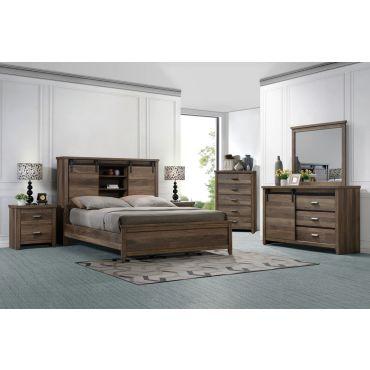 Jaiden Bedroom Furniture Barn Door Design